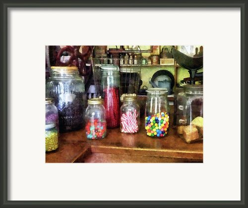 Penny Candies Framed Print By Susan Savad