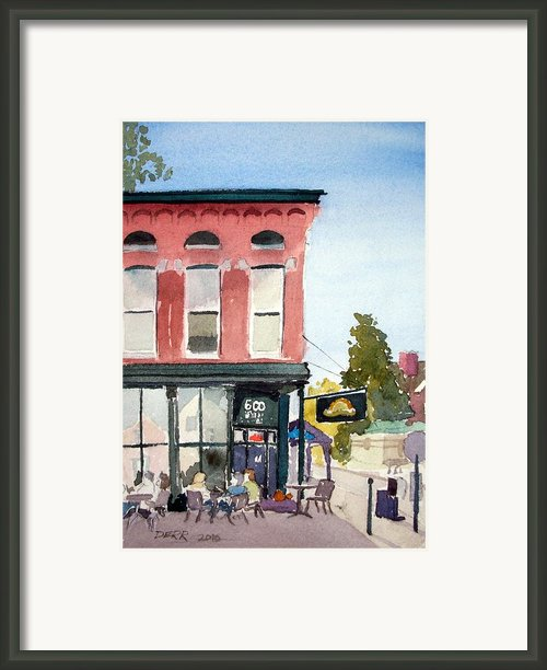 Penny Lane Saturday Morning Framed Print By Todd Derr
