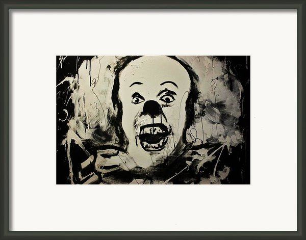 Pennywise The Clown Framed Print By Michael Kulick