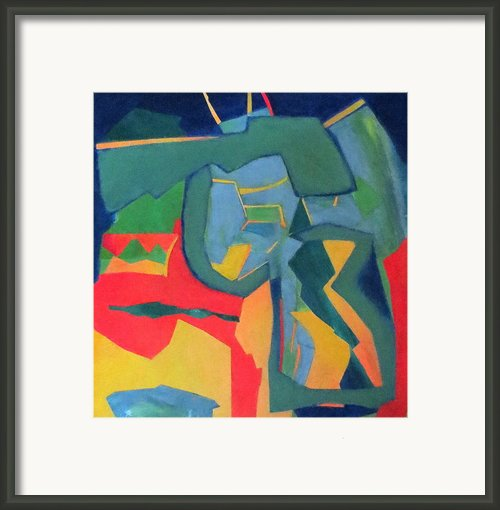 Percussion Framed Print By Diane Fine