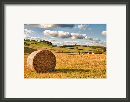 Perfect Harvest Landscape Framed Print By Christopher And Amanda Elwell