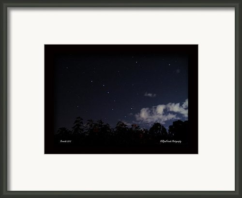 Perseids Big Dipper Framed Print By Pjqandfriends Photography