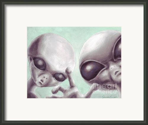 Personal Space Invaders Framed Print By Samantha Geernaert