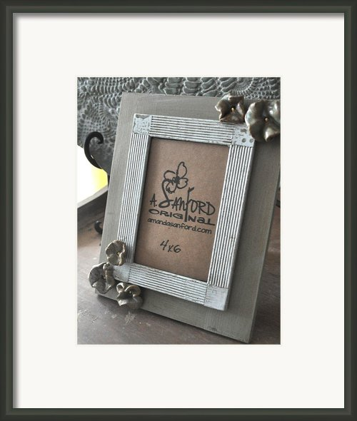 Petal To The Metal Framed Print By Amanda  Sanford