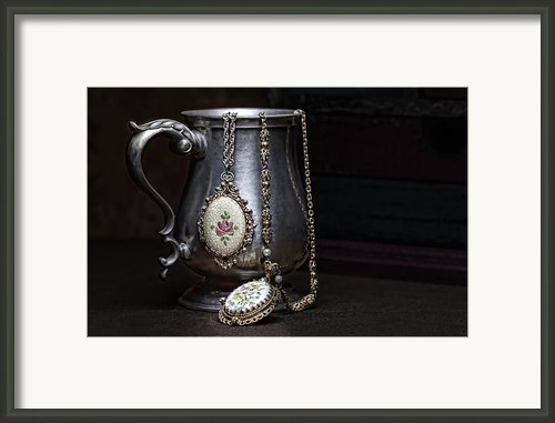 Pewter Cup Still Life Framed Print By Tom Mc Nemar