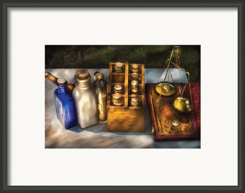 Pharmacist - Field Medicine Framed Print By Mike Savad