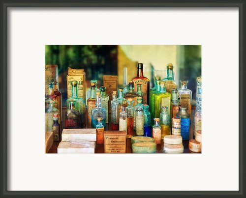 Pharmacist - Whatever Ails Ya - Ii Framed Print By Mike Savad