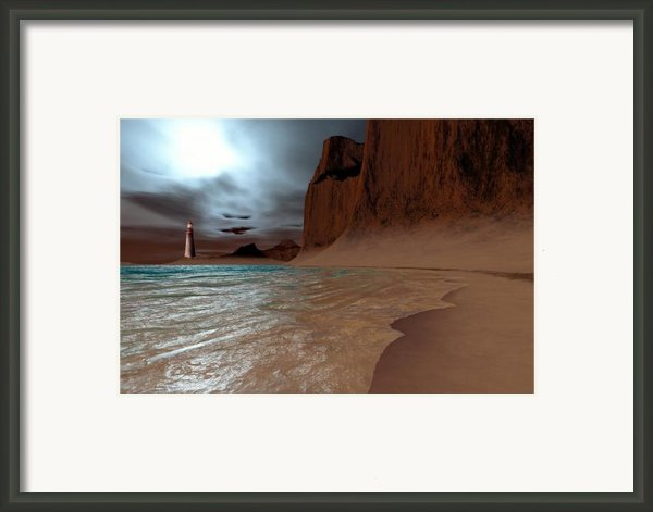 Pharos Framed Print By Corey Ford