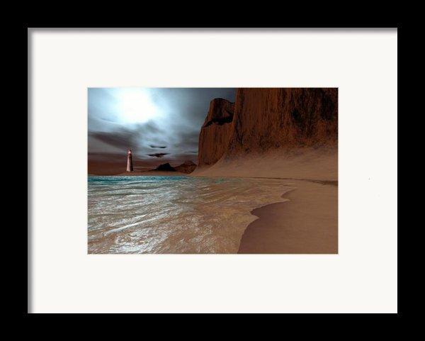 Pharos Framed Print By Corey Ford