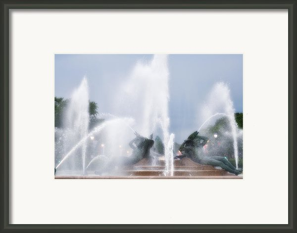 Philadelphia - Swann Memorial Fountain Framed Print By Bill Cannon