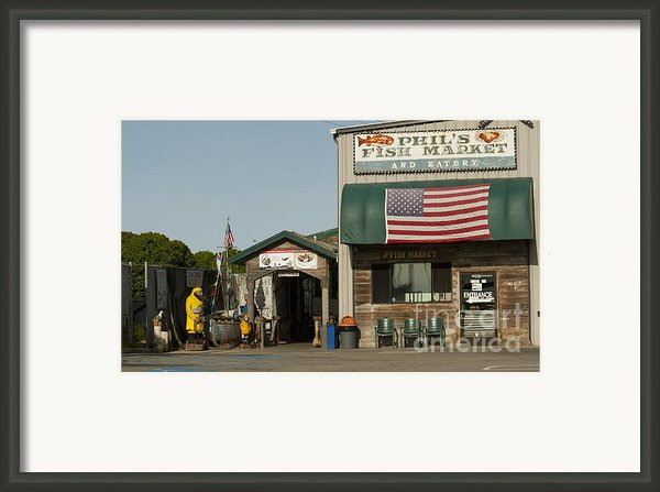 Phils Fish Market Moss Landing Framed Print By Artist And Photographer Laura Wrede