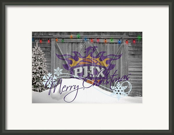 Phoenix Suns Framed Print By Joe Hamilton