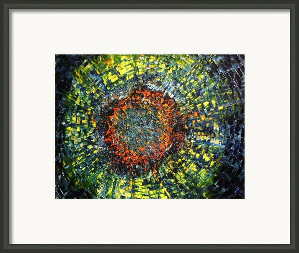 Physiological Supernova Framed Print By Michael Kulick