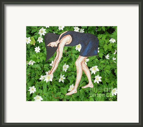 Picking Flowers Framed Print By Patrick J Murphy