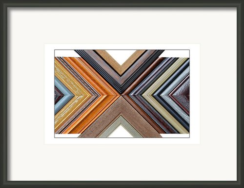 Picture Frame Art Framed Print By Susan Leggett
