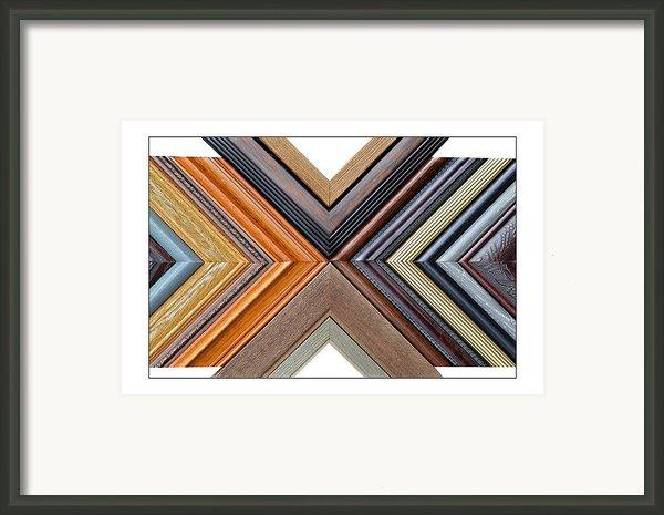 Picture Frame Art Framed Print By Susan Leggett
