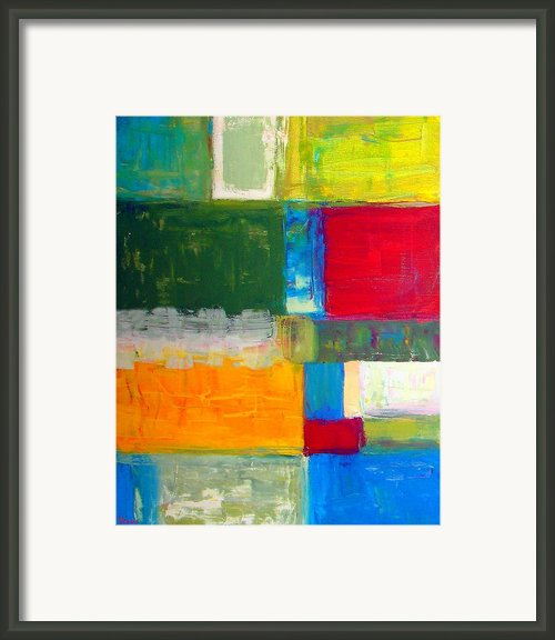 Pieces Ii Framed Print By Venus