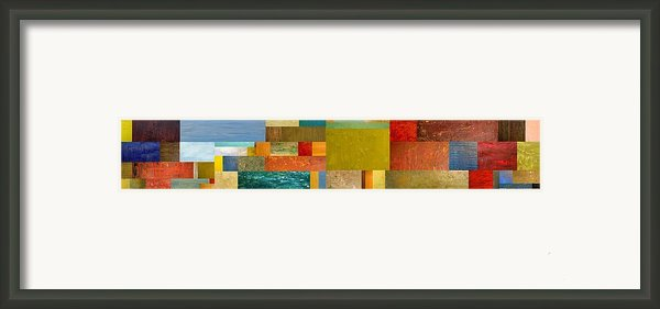 Pieces Project Lv Framed Print By Michelle Calkins