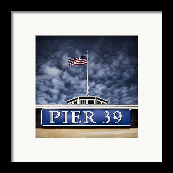 Pier 39 Framed Print By Dave Bowman