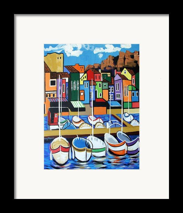 Pier One Framed Print By Anthony Falbo