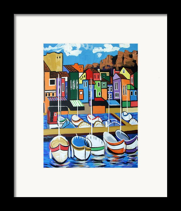 Pier One Framed Print By Anthony Falbo
