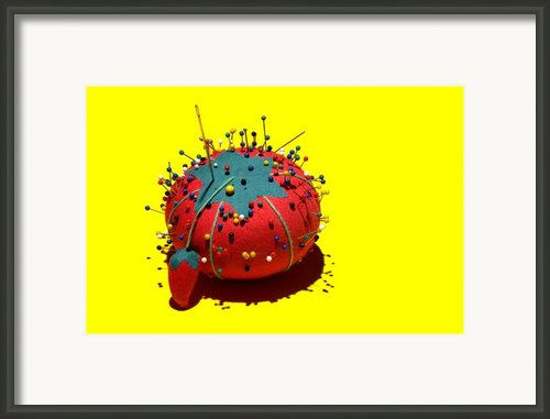 Pin Cushion Framed Print By Tom Mc Nemar
