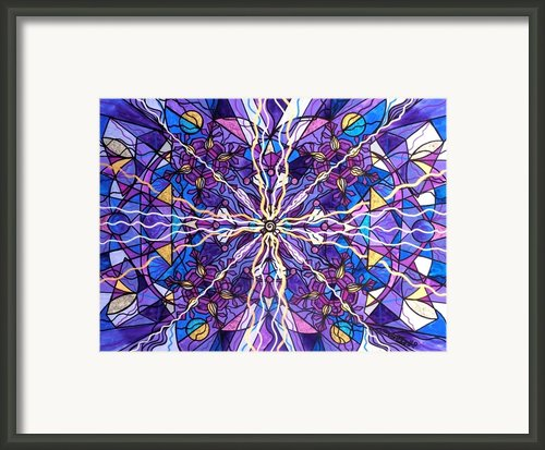 Pineal Opening Framed Print By Teal Eye  Print Store