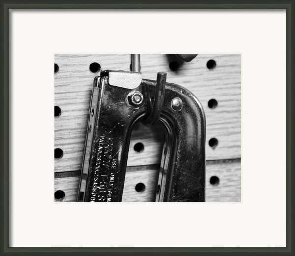 Ping Tool Framed Print By Anthony Cummigs