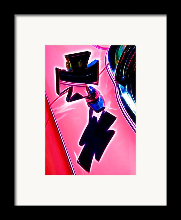 Pink Custom Mirrors Framed Print By Phil