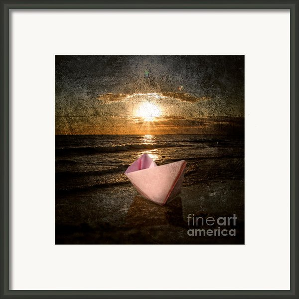 Pink Dreams Framed Print By Stylianos Kleanthous