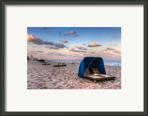 Pink Sands Framed Print By Debra And Dave Vanderlaan