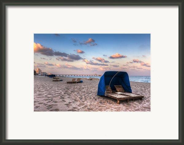 Pink Sands Framed Print By Debra And Dave Vanderlaan