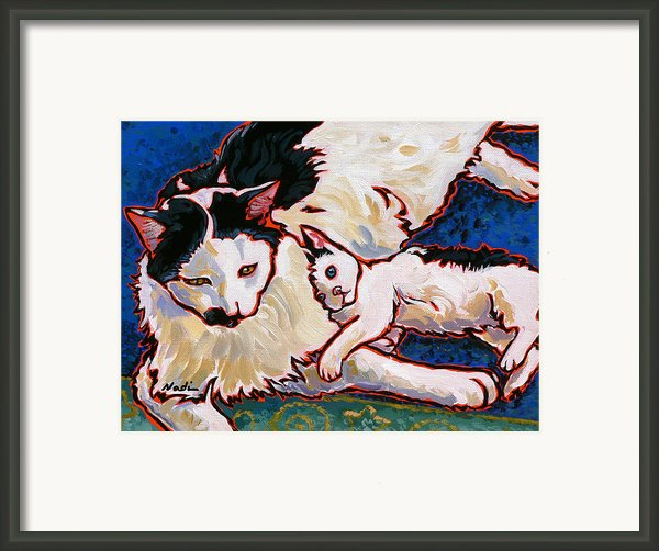 Pirate And June Framed Print By Nadi Spencer