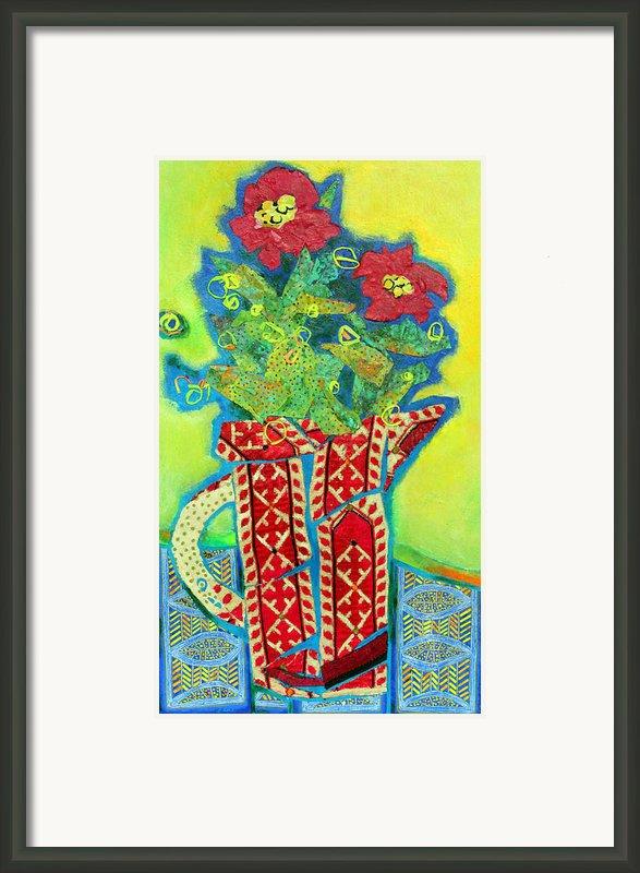Pitcher Patterns Framed Print By Diane Fine