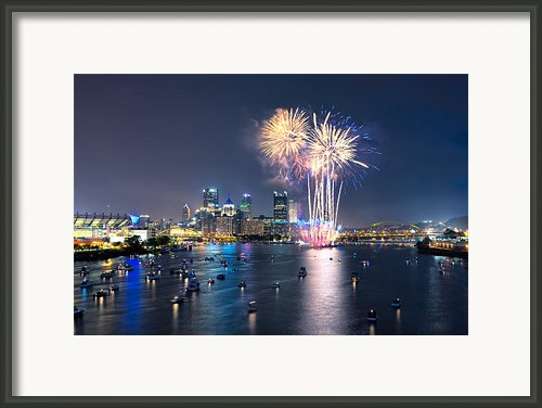 Pittsburgh The 4th  Framed Print By Emmanuel Panagiotakis
