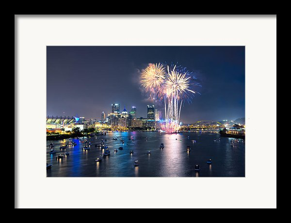 Pittsburgh The 4th  Framed Print By Emmanuel Panagiotakis
