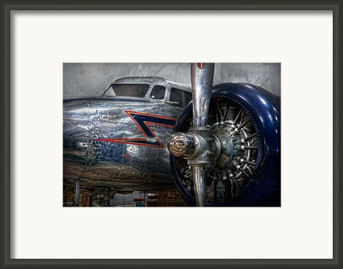 Plane - Hey Fly Boy  Framed Print By Mike Savad