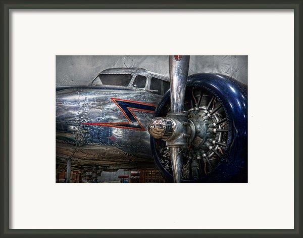 Plane - Hey Fly Boy  Framed Print By Mike Savad