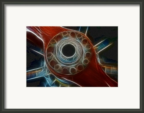 Plane Old Wooden Prop Framed Print By Paul Ward