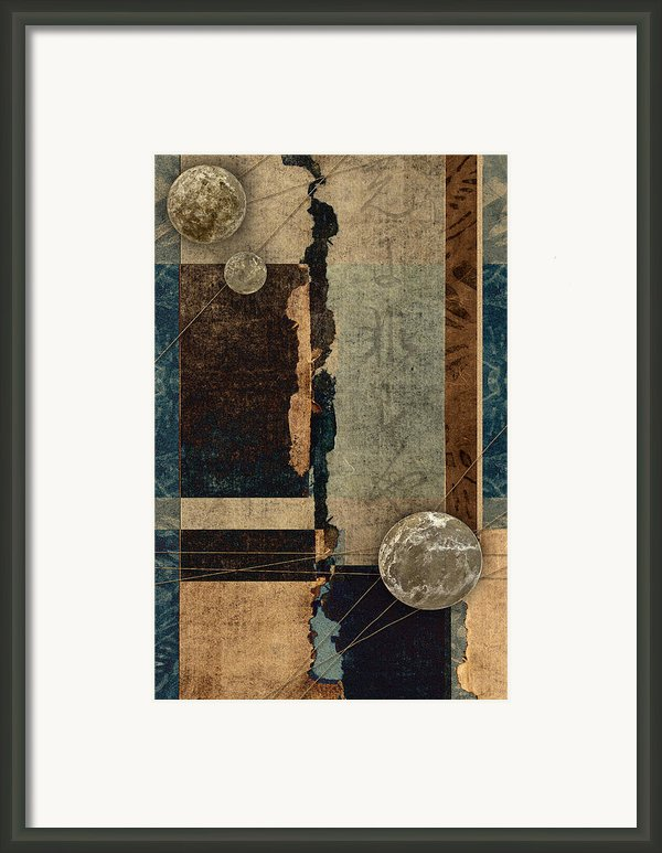Planetary Shift #1 Framed Print By Carol Leigh