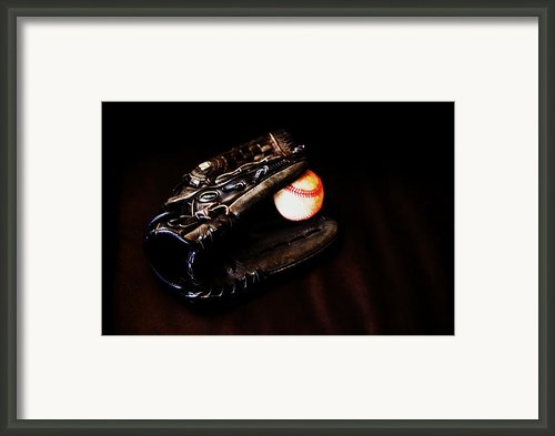 Play Ball Fine Art Photo Framed Print By Jon Van Gilder