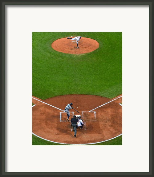 Play Ball Framed Print By Robert Harmon