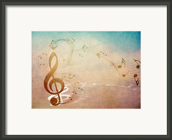 Please Dont Stop The Music Framed Print By Angelina Vick