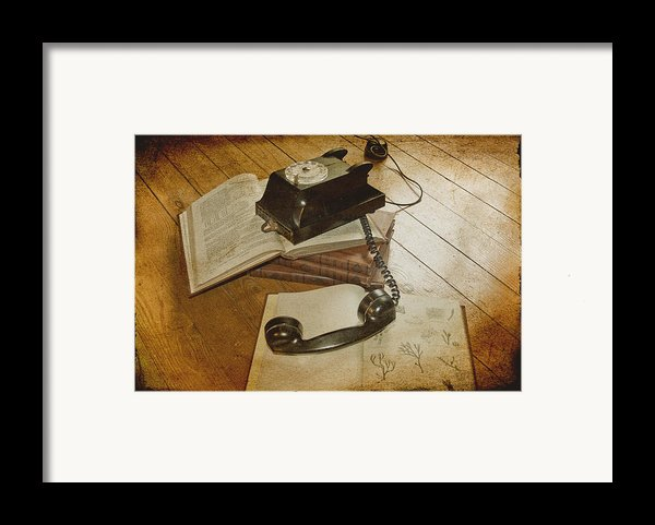 Please Hold Framed Print By Nomad Art And  Design