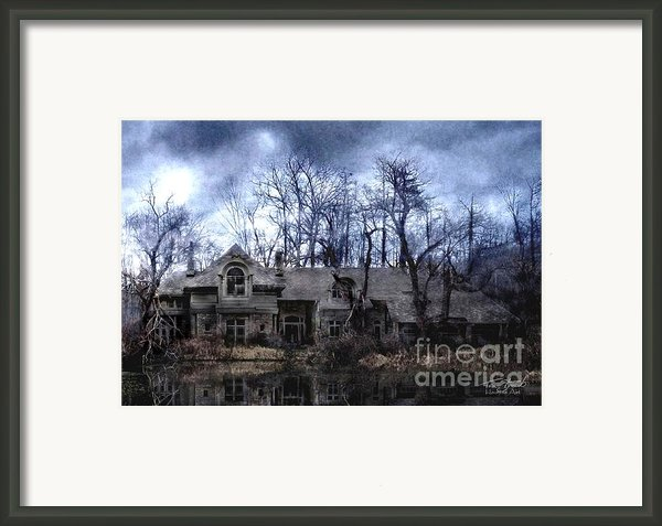 Plunkett Mansion Framed Print By Tom Straub