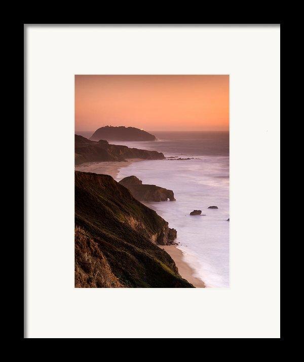 Point Sur Lighthouse Framed Print By Alexis Birkill