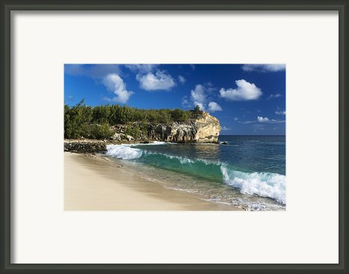 Poipu Beach - Kauai Framed Print By M Swiet Productions