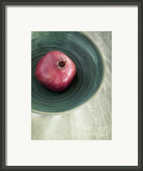 Pomegranate Framed Print By Priska Wettstein