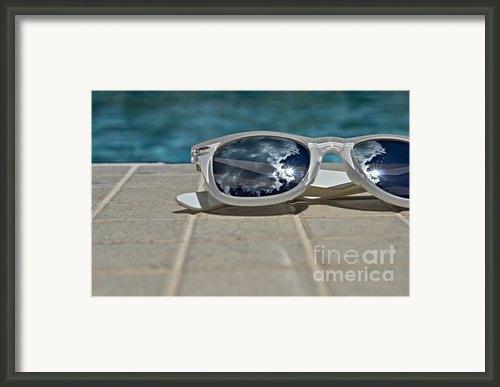 Poolside  Framed Print By Laura  Fasulo
