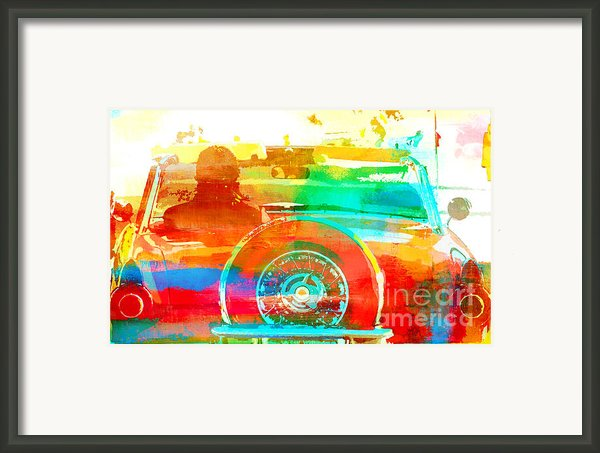 Pop Art Car Framed Print By Anahi Decanio